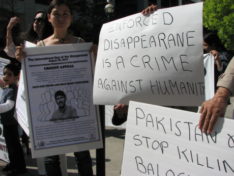 Baloch, Sindhis, Pashtuns stage protest against Pakistan in Toronto