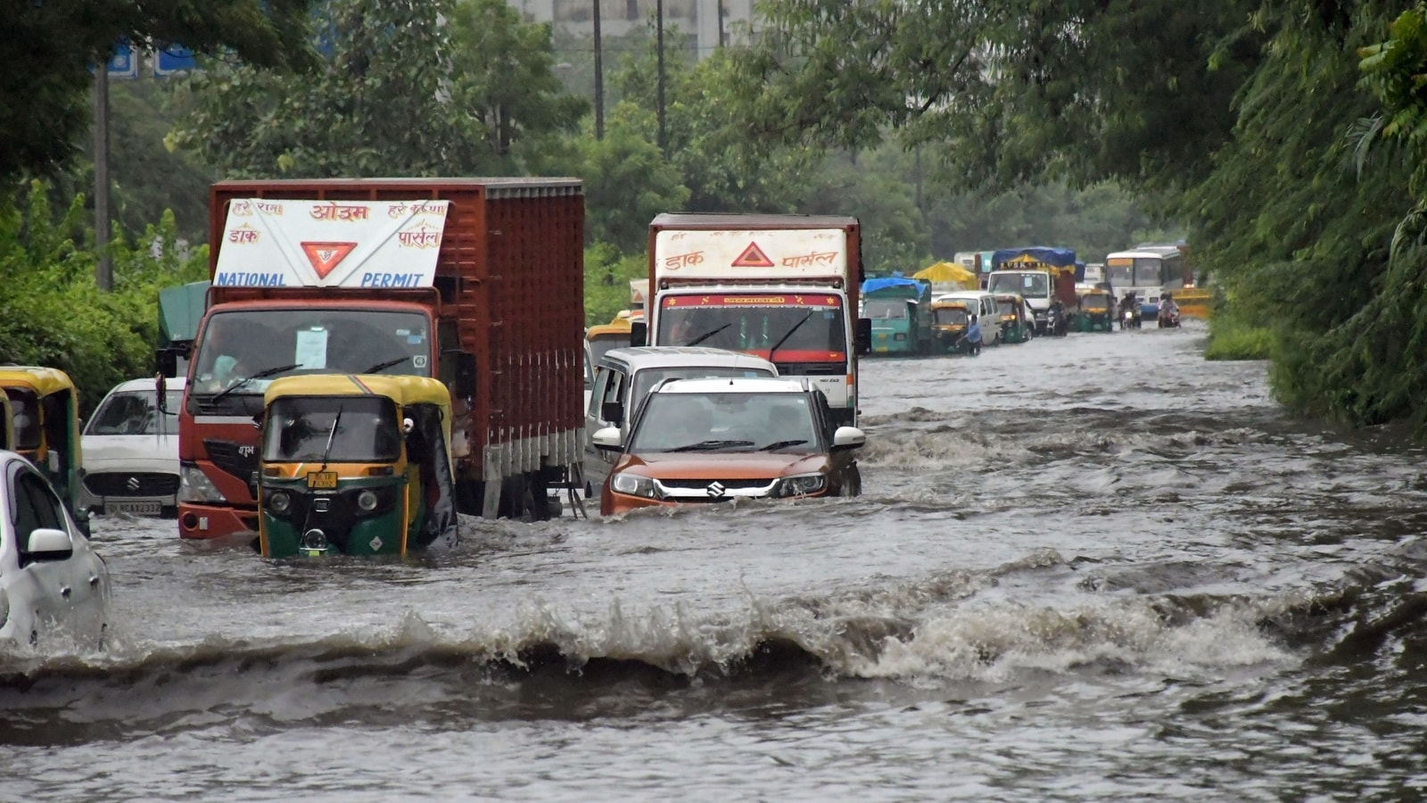 IMD predicts heavy rainfall in several states for next 3-4 days. Check details