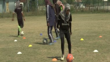 Football coaching for girls in Kashmir is not just to play football